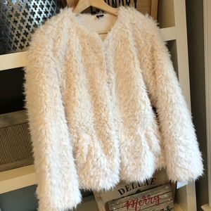 NWT! Women's Open Cardigan Sherpa Jacket